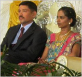 Wilfred and Anuradha D Mello