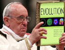 Pope Francis declares evolution and Big Bang theory are right and God isn't 'a magician