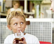 Soft drinks cause heart disease in kids