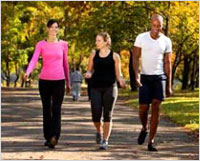 Brisk walking as good as running for heart