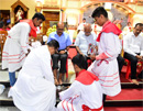 Kinnigoli: Maundy Thursday observed at Immaculate Conception Church
