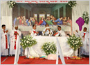 Mangaluru: Maundy Thursday Mass at Milagres