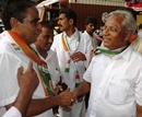 Mangalore: J R Lobo Campaigns at Localities of Old Port Road