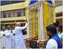 Udupi: Statue of Mother Teresa installed in the Manasa Special School, Pamboor
