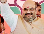 Amit Shah announces BJP's new team, BSY vice president