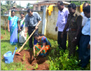 Udupi/M�belle: Vanamahotsava observed with the slogan: �Garden to Each School-Plant to Each Student�