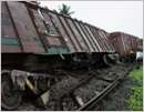 Even after 2 days, train derailment continues to delay services on Konkan Railway route