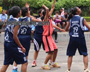 Mangaluru: SAC hosts Mangalore Varsity Joyce Pais Memorial Basketball Championship Trophy