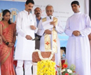 Mangalore: MP Nalin lays Foundation to build New Community Hall at Vamanjoor Parish