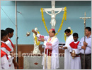 Bishop Dr. Jerald Isaac Lobo of Udupi Diocese pays pastoral visit to Pangala Parish