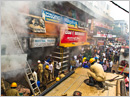 Udupi: Fire mishap occurs in Agro hardware shop