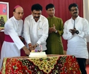 Udupi: Rev. Dr. Gerald Isaac Lobo celebrates Christmas with Journalists and Media Persons