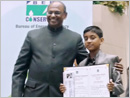Udupi: Hariprasad Padigar - fourth in National energy saving drawing competition