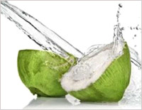 The goodness of coconut water