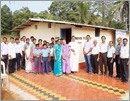 Udupi: Newly-built toilets inaugurated at St Lawrence Edu Institutions, Moodubelle