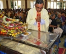 Chikmagalur: Emotional farewell marks the last journey of Late Fr. Valerian Castelino