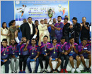 Abu Dhabi: Coastal Friends Dubai Men's and Ladies won the prestigious ISC Throwball Championship
