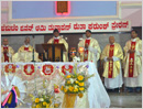 Moodubelle Parishioners welcome New Year 2017 with Adoration and Solemn Mass