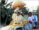 Udupi: Confraternity Sunday observed with grand Eucharistic Procession at Mount Rosary Church