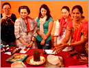 Udupi/M'Belle: Students from Pennsylvania University interact with self-help groups