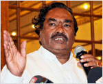 Eshwarappa�s absence at BJP office sparks speculations