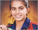 Udupi: Glancia Ashma Pinto bags gold in National Rural Shuttle Badminton