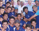 Udupi: St Aloysius College bags championship trophy at MU inter-collegiate softball tourney