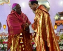 Attur-Karkala:  Bishop of Shivmogga Most Rev. Dr. Francis Serrao offers solemn Vespers Mass