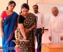 M'luru: All are Officers. There is no scope for Gender discrimination � ZP CEO Srividya