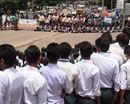 Bantwal: Students lay road blockade at Kalladka against state admin over Yallalinga murder case
