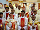 Silver Jubilee of  Fr. Denis D'Sa observed with solemn Eucharistic celebration & grand Felicit