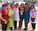 Abu Dhabi Ladies Association Celebrated 'Holi' at Corniche - A Festival of Colors