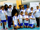 Abu Dhabi: 13 teams of UAE  joined hands with Enthusiastic at the International Women�s tourna