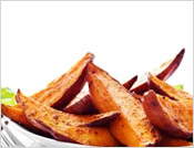 Sweet potatoes are tasty and nutritious