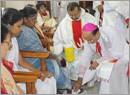 Milagres Cathedral Kallianpur observed Maundy Thursday
