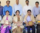 Puttur: St Philomena College felicitates Staff Achievers