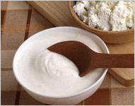 A mouthful of curd for good health