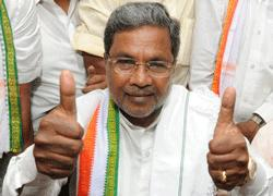 Bringing back collapsed admin my top priority: Siddaramaiah