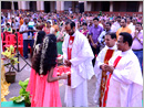 Udupi: Rev. Dr. Leslie Clifford D'souza felicitated on his Priestly Silver Jubilee by Pangala