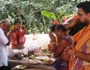 Udupi: Puja Celebrations held at Banyan Tree developed by Gabriel Nazareth at Kallugudde