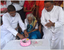 Udupi/M'Belle: Cecilia Mathias steps into 100th year with Thanksgiving Mass and good wishes