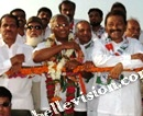 Mangalore: Supporters of MLA J R Lobo celebrate Vijayotsav