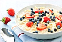 Fun and healthy breakfasts with oatmeal