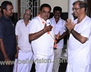Beltangady: DK District-in-charge Minister Ramanat Rai Seeks Blessings from Dr Veerendra Heggade