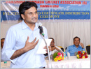 Dakshina Kannada Cricket Association felicitates former cricketer Javagal Srinath