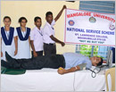 Udupi: Various organizations join together in  Blood Donation Drive at Moodubelle