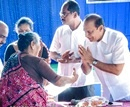 Udupi: Minister Vinay Kumar Sorake distributes state facilities to Beneficiaries at Belle GP