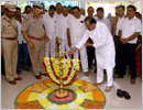 Bantwal: Minister K J George inaugurates new building of fire brigade at Bastipadpu