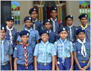 Udupi: Scouts and Guides boys on cycle rally to spread awareness on 'Swachch Bharath Abhiyan&r