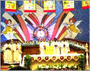 Qatar Parishioner celebrated feast of Our Lady of Rosary Church with zeal